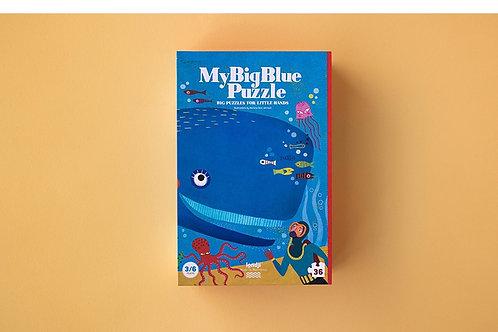 PUZZLE 36 PZ. MY BIG BLUE