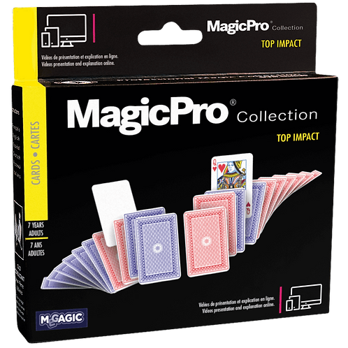 GIOCO MAGIA CON LE CARTE TOP IMPACT+DVD