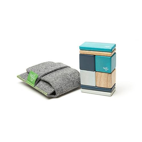 Original Tegu Magnetic Wooden Blocks 8 pezzi