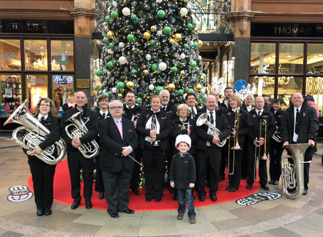 Kippax Band get Festive!