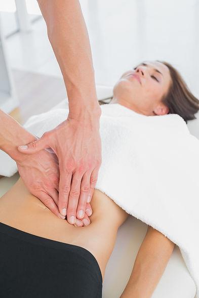 Séance Ostéopathie sur femme