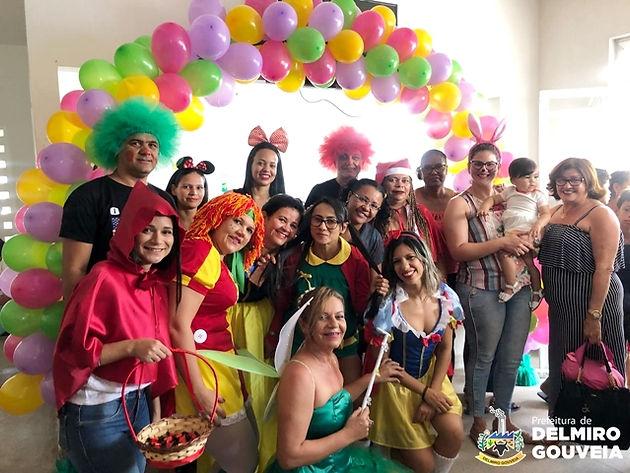 Psf Do Campo Grande Realiza Festa à Fantasia Em Comemoração Ao Dia