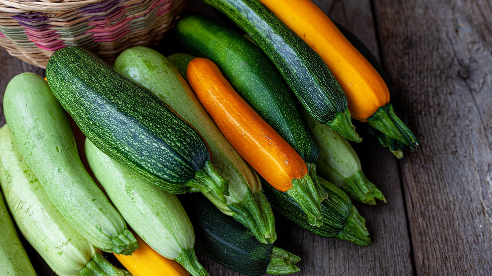 500g courgettes