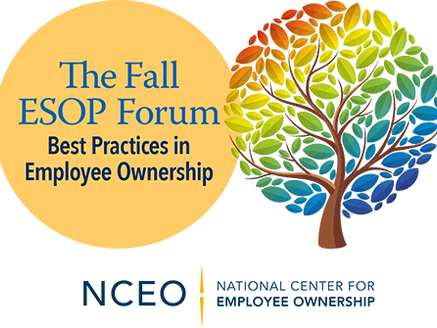 ESOP Economics to Sponsor and Speak at 2018 NCEO Fall Forum