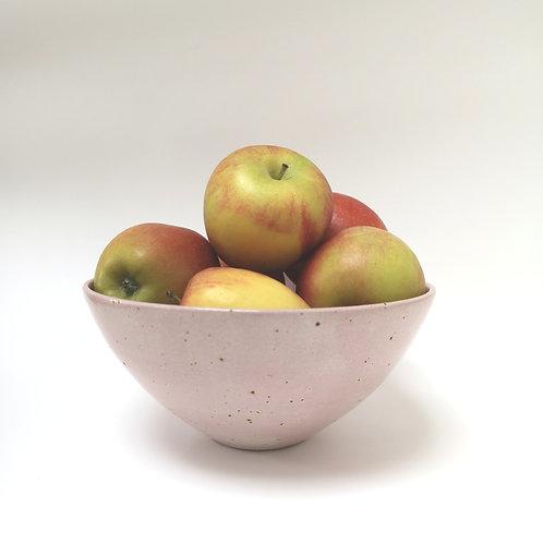 Pink speckled bowl