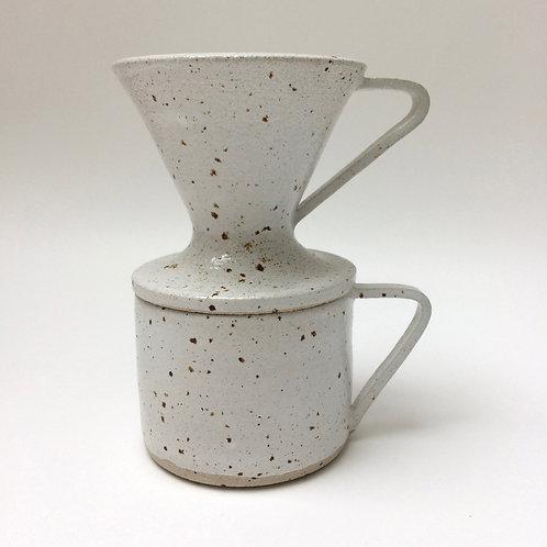 Coffee pour-over and mug set