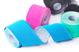 """Whats that coloured stuff?"" – Kinesio Taping"