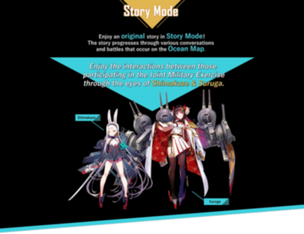 Azur Lane Crosswave Story Mode