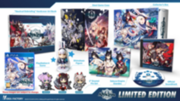 Azur Lane crosswave Limited edition