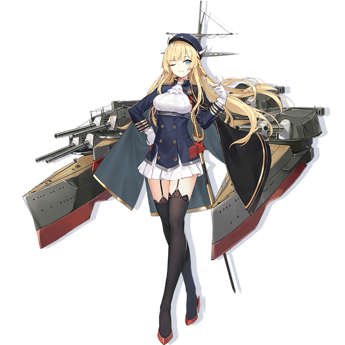 Azur Lane Crosswave Kongou