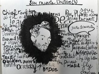 Sam Tells a Story by Alex Royer