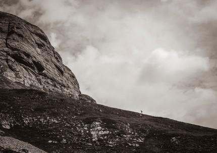 Crans Montana Hiker
