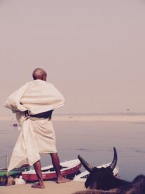Overlooking the Ganges