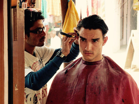 Tristan Haircut