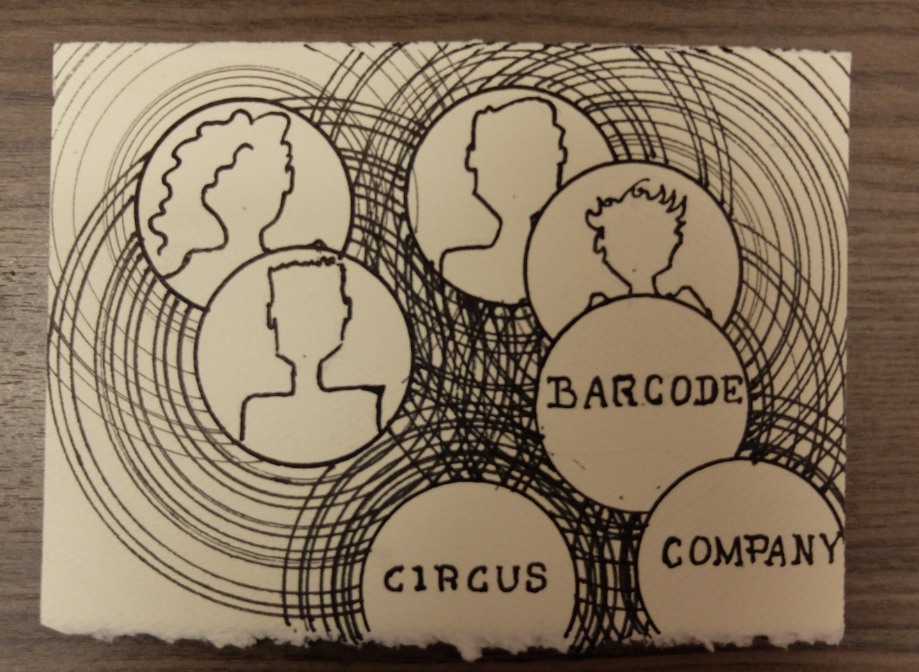 Barcode Circus Company by Eve Bigel
