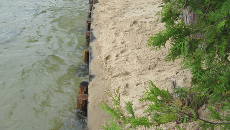 Lake Huron Seawalls in Iosco County | Construction & Repairs