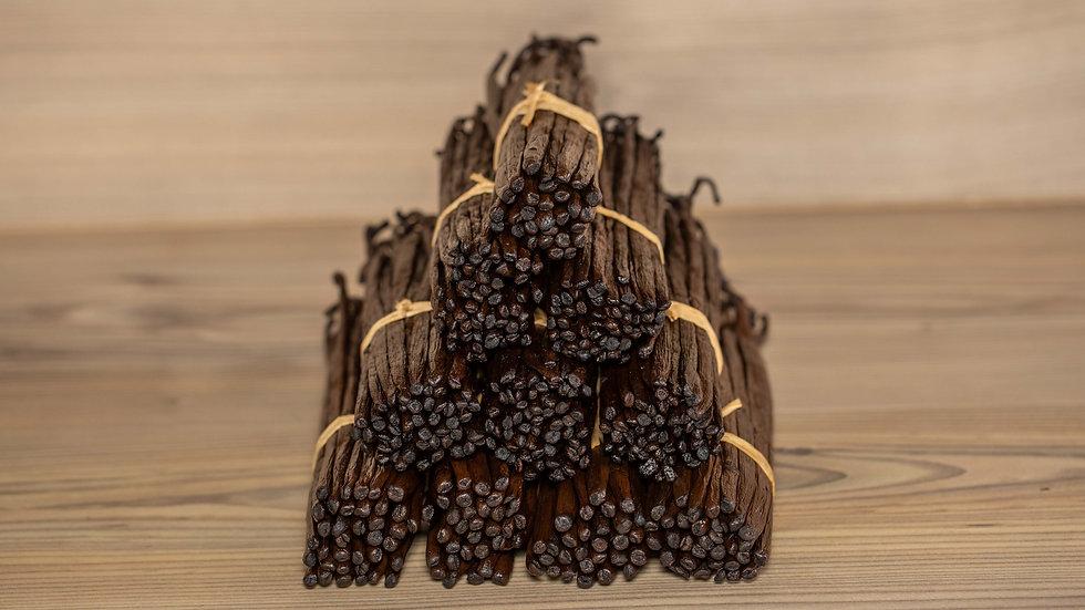 Gousses de Vanille Bourbon (100 grammes)