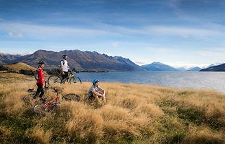 Radfahrt am Lake Wakatipu - Southern Discoveries