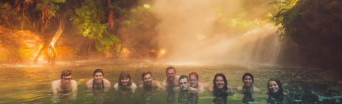 Stray NZ - Kerosene Creek - Rotorua