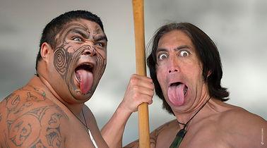 Maori Krieger Duo © Zwerger-Schoner