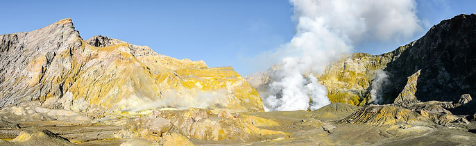 Vulkaninsel White Island © Zwerger-Schoner