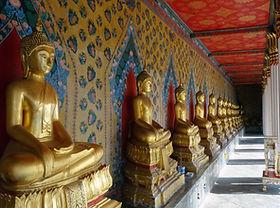 Bangkok, Buddha Statuen