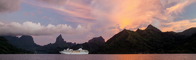 Paul Gauguin Cruies in Moorea
