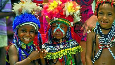 Papua Neuguinea Kids © Paul Gauguin Cruises