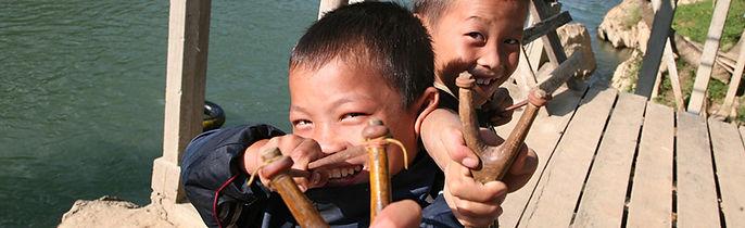 Stray Asia - Vang Vieng boys