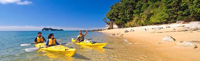 Abel Tasman Kayaking © Nelson Tasman Tourism