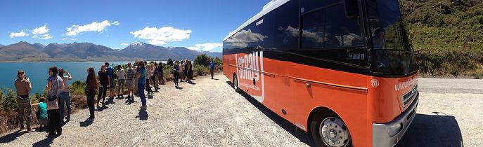 Stray NZ Hop-on Hop-off Bus