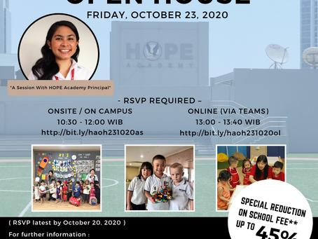 HOPE Academy 2nd Open House