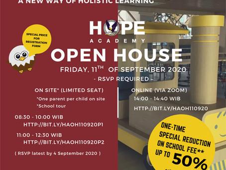 HOPE Academy 1st OPEN HOUSE