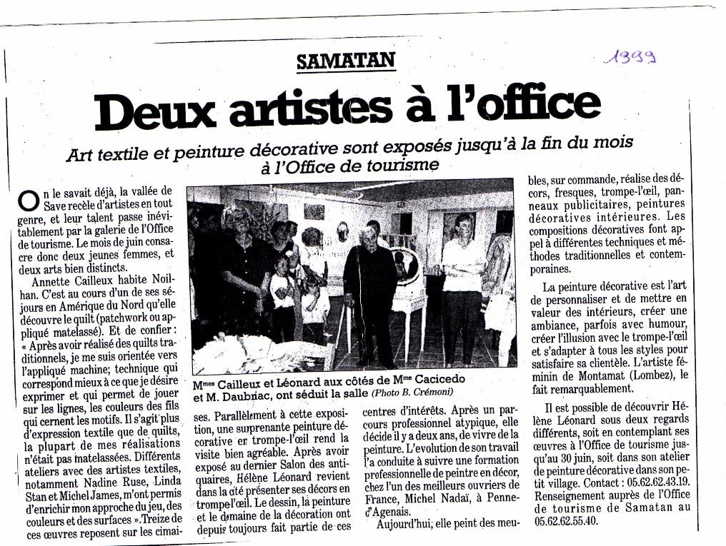 Exposition samatan 1999
