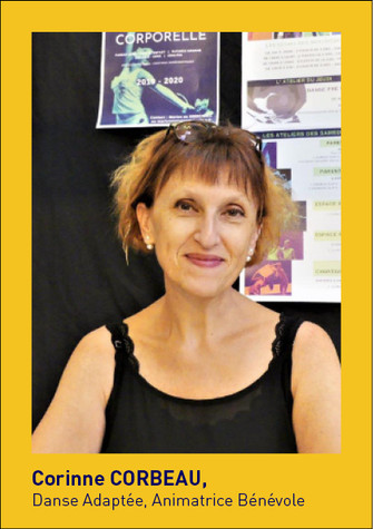 Corinne Corbeau, Danse adaptée