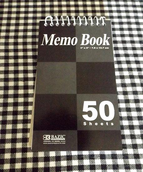 Memo Notebook Pocket Size