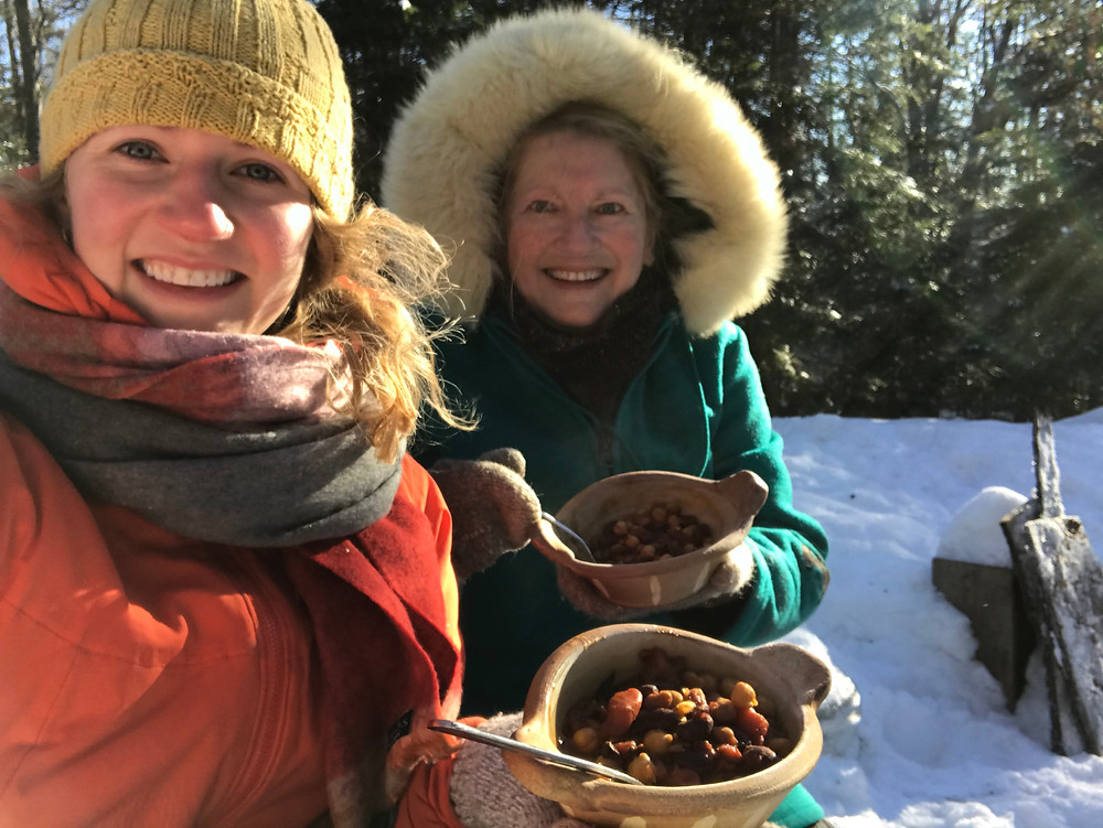 Chilli on a Chilly Day #HaliburtonCottages