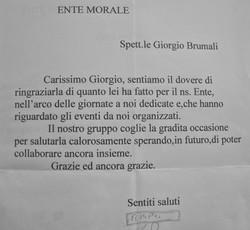 Lettera ENTE MORALE