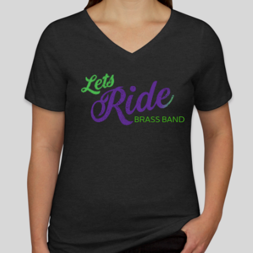 Let's Ride brass Band T-Shirts