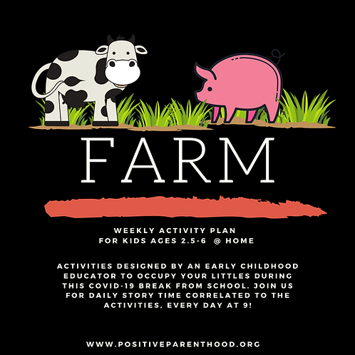 Farm Activities (Materials Box For 1 Child)