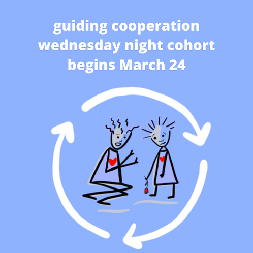 Guiding Cooperation Wednesday Spring 2020