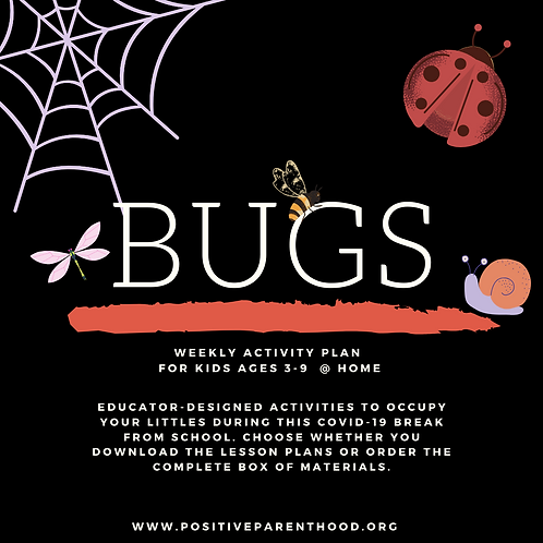 Bug Activities (Materials Box For 1 Child)