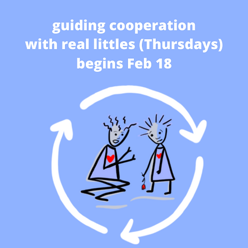 Guiding Cooperation (Real Littles) Thursdays Winter 2020