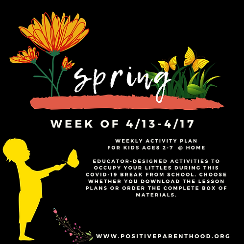 Spring Activities (Materials Box For 1 Child)