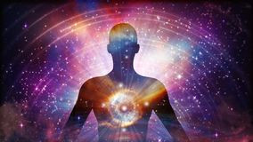 Human consciousness in relation to the Universe.
