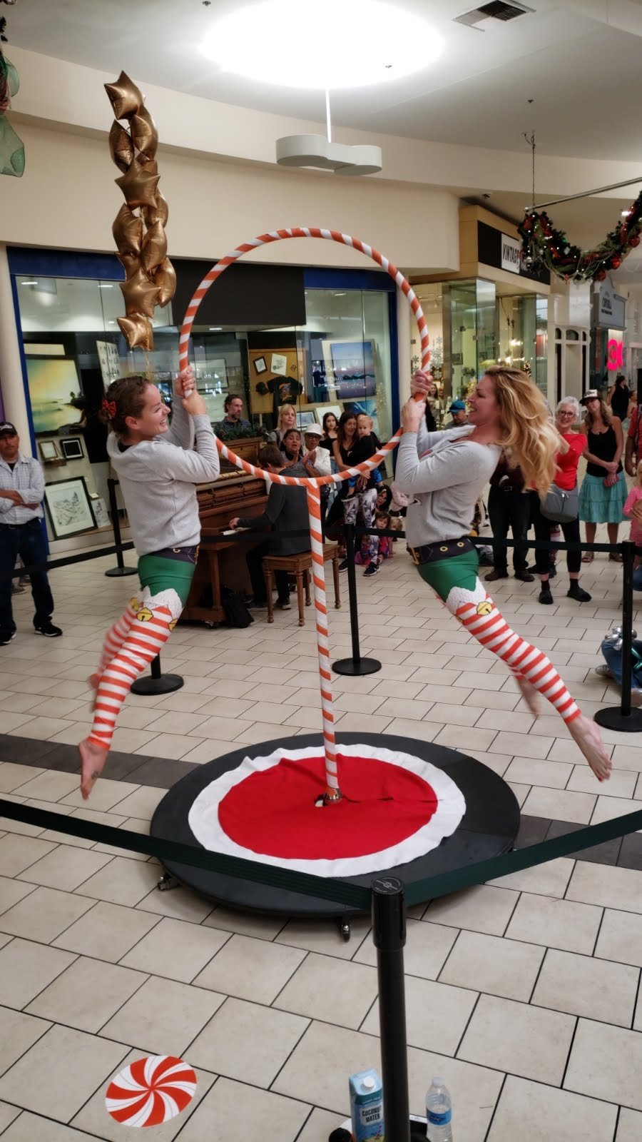 This was Stellaria Creative Company's very own mall campaign at the Capitola Mall in Capitola, CA to help promote an event for Jacob's Heart in 2019. [Accompanying video link is from the year prior, same location and event.]