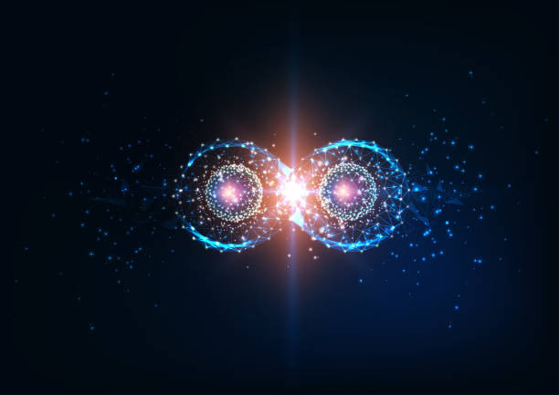 Another pretty render of the phenomenon within Quantum fields.