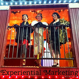 We provide experiential marketing and brand ambassador services.