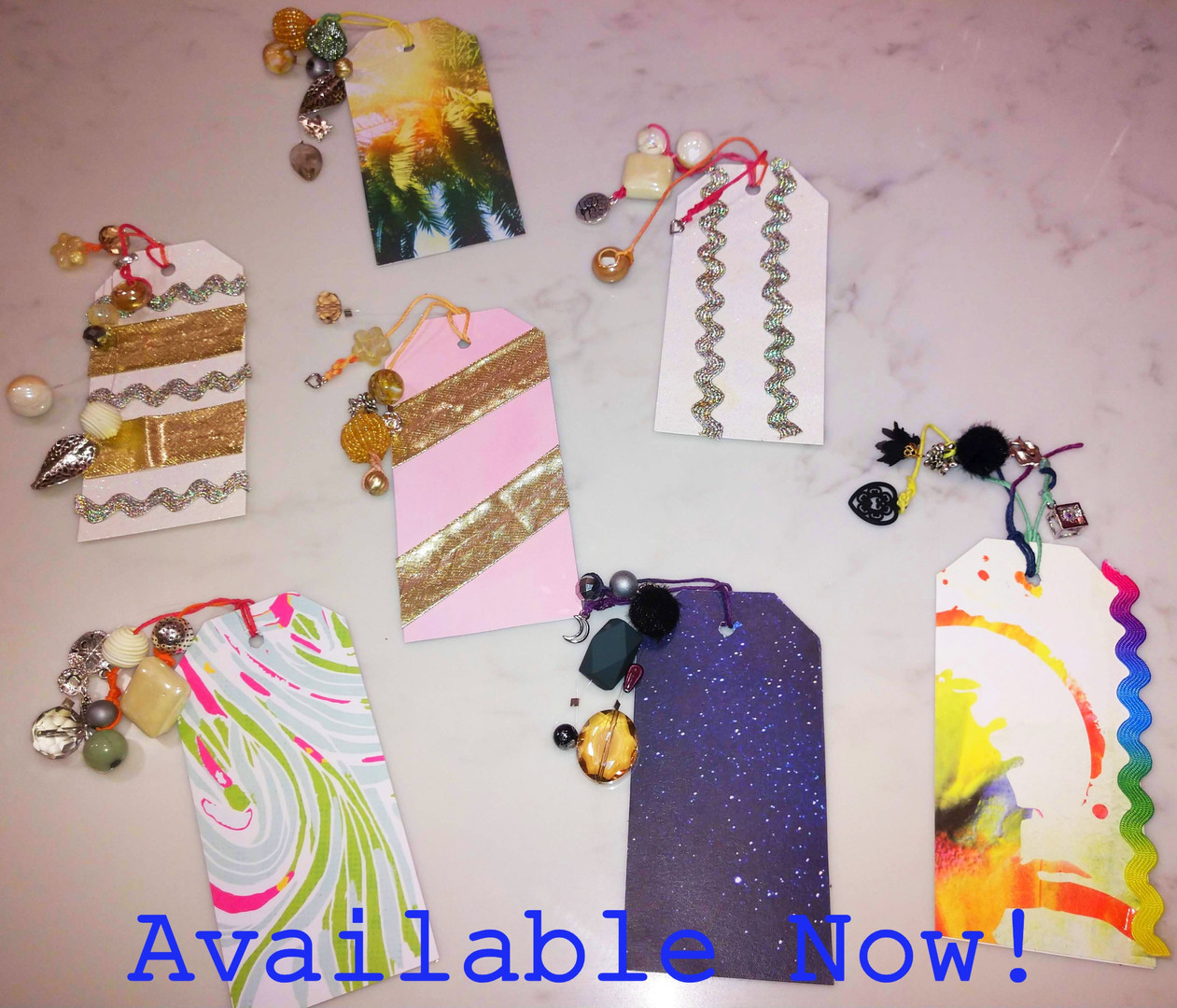 Hand crafted bookmarks