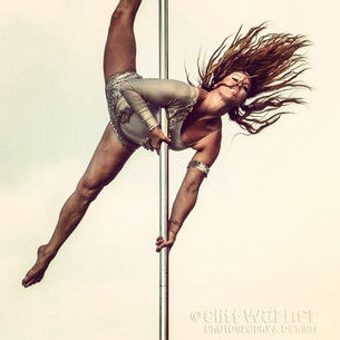 My First Pole Class (circa 2009)